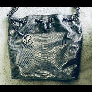 Michael Kors Bags - MICHAEL KORS Frankie Python Embossed Convertible👜